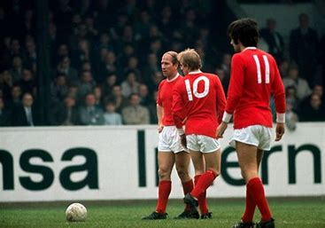 History 1971/72: Manchester Uniteds Best, Law and Charlton