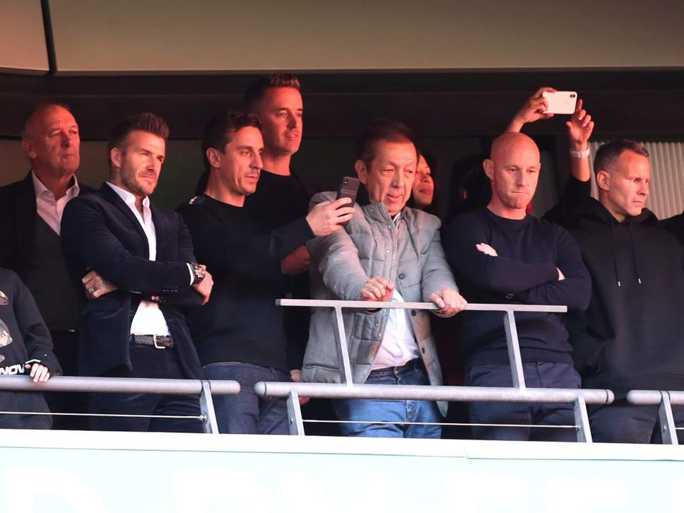 Beckham and Class of 92 Cheer Salford to Victory