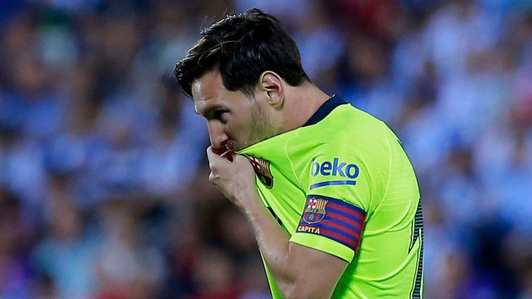 Messi Emotional After Liverpool Victory