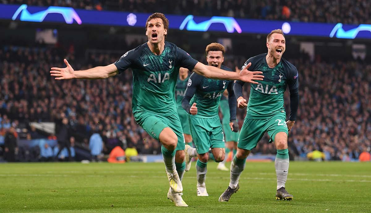 Spurs Delight as they Eliminate Ajax