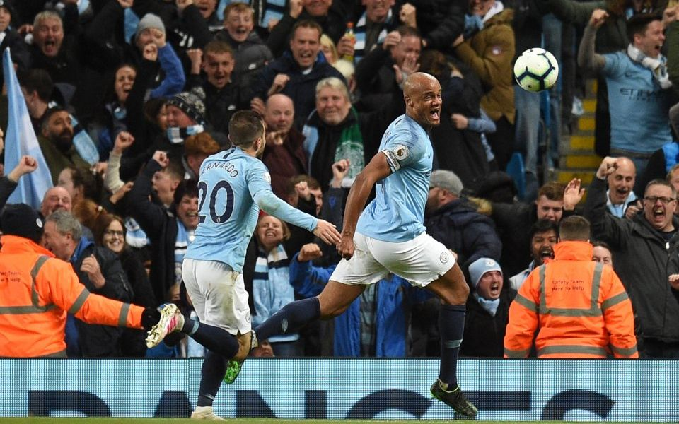 Kompany Strikes to Sink City