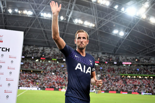 Harry Kane Scores Classic Goal in Singapore