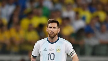 Messi Sent Off in third place finish