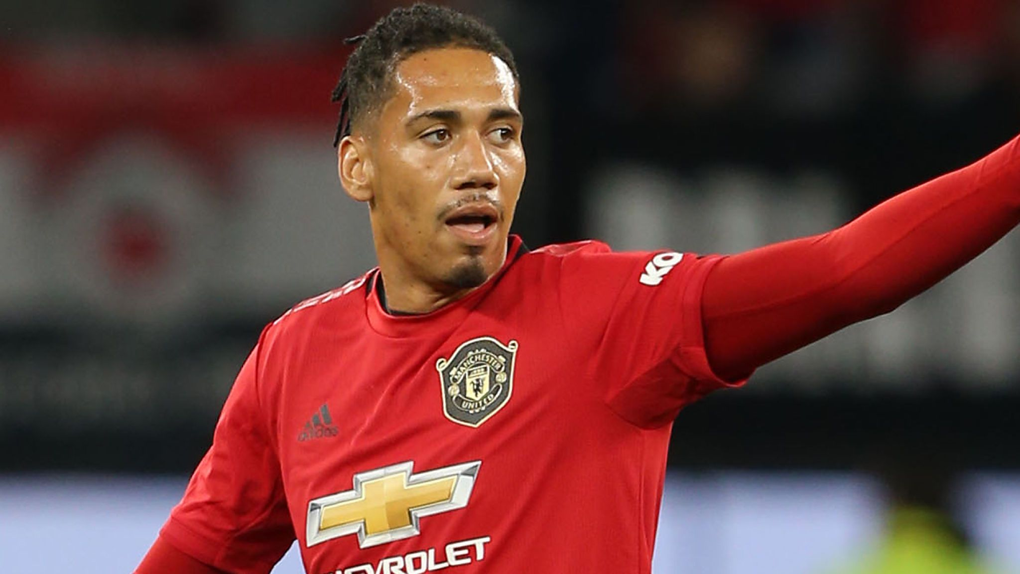United's Smalling Departs for Roma