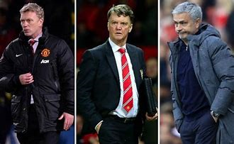 How does Ole Gunnar Solskjaer's record compare to Jose Mourinho, David Moyes and Louis Van Gaal?