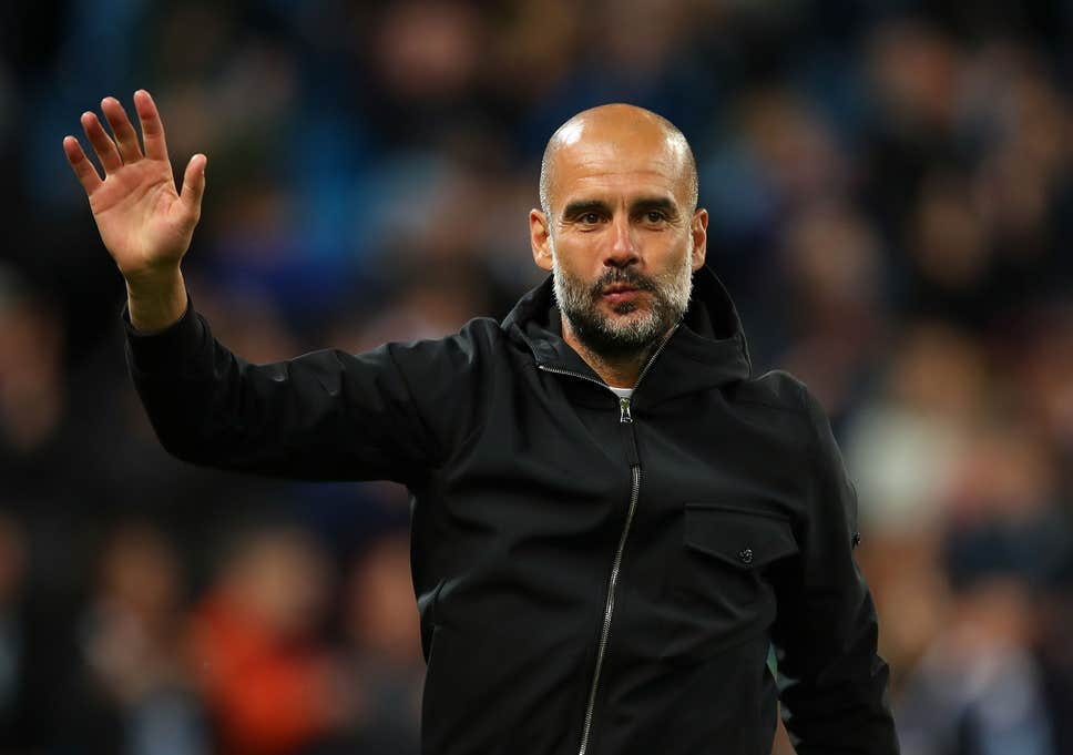 Pep Plays Down Champions League Ambitions