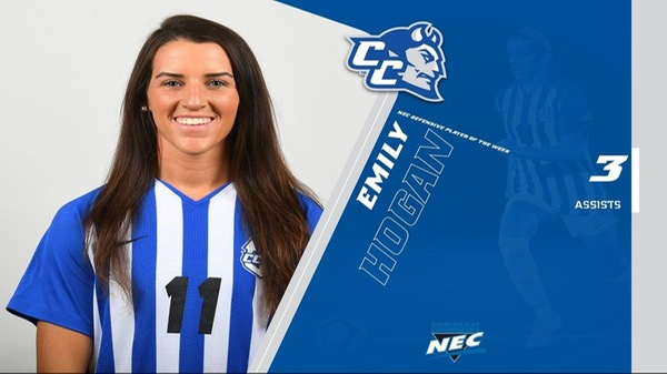 Hogan Named NEC Defensive Player of the Week