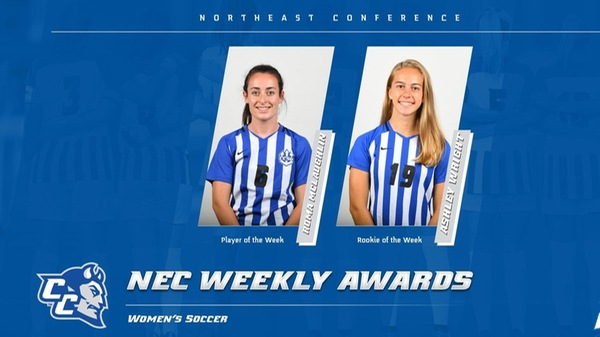 McLaughlin, Wright Earn NEC Weekly Honors
