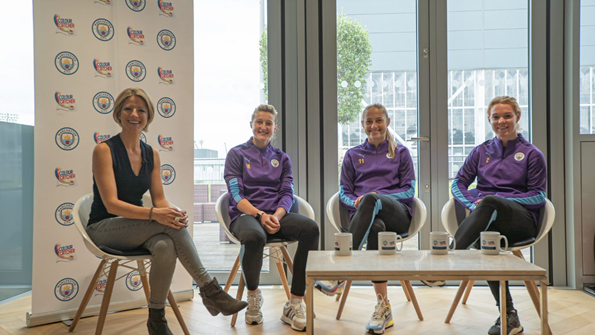 Manchester City Women: 'Up Close and Personal' The players discuss how they mix up their lifestyles off the pitch