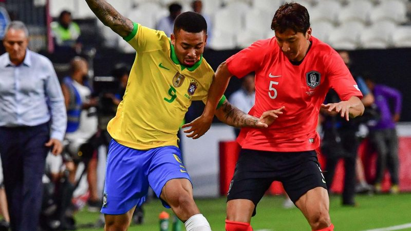 Brazil vs South Korea LIVE: Latest football updates from friendly today