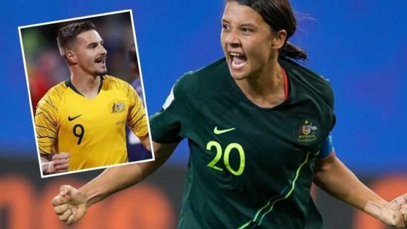Matildas to get equal pay and same commercial income as the Socceroos : WomensSoccer