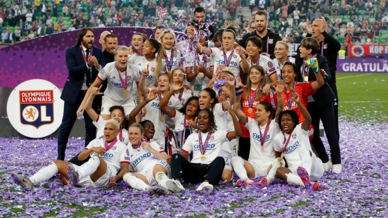 Women's Champions League could expand to include groups and more English clubs. The current competition is a knock-out, like the old men's European Cup : WomensSoccer