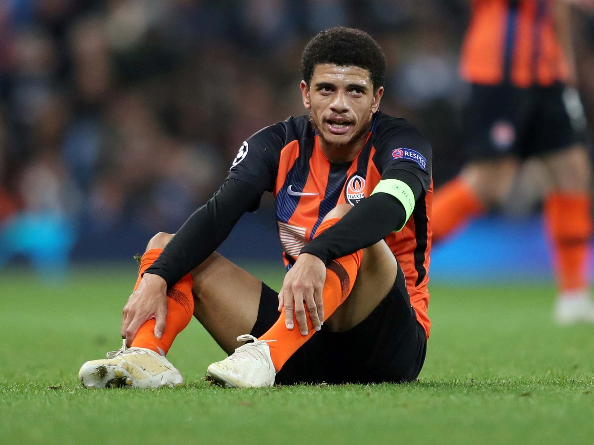 Ukrainian FA defends Taison ban claiming Brazilian 'deserved red card' for reaction to racist abuse