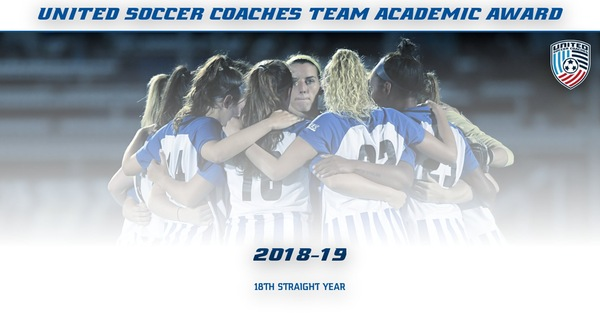 Women's Soccer Recognized With United Soccer Coaches Team Academic Award