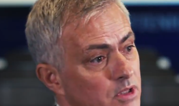 Jose Mourinho's first interview as Tottenham manager