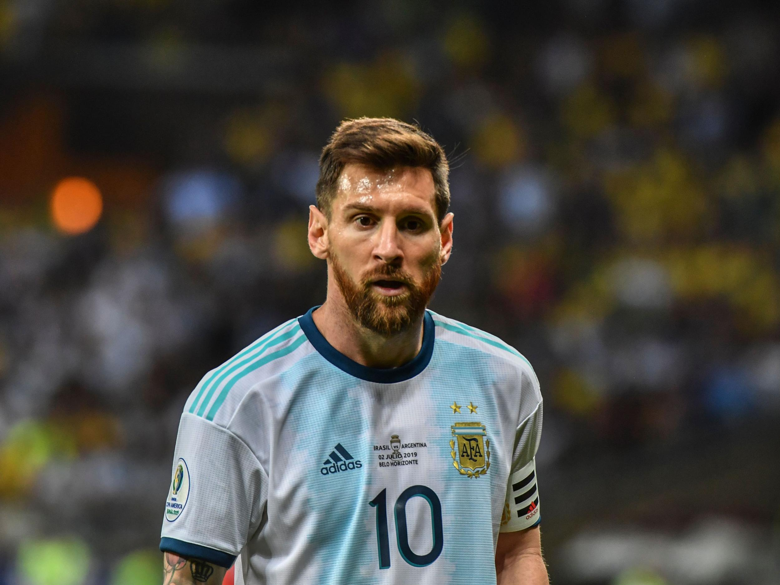 Lionel Messi returns to Argentina squad for friendlies against Brazil and Uruguay after serving three-month ban