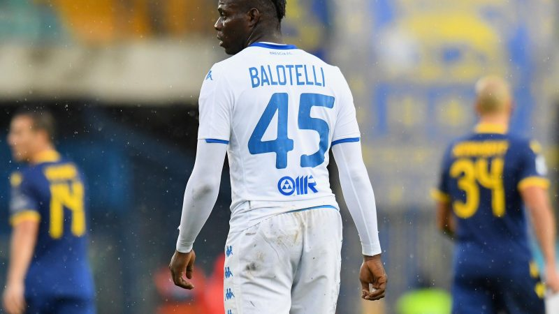 Mario Balotelli: People who deny I was racially abused are not 'real men', Brescia striker says