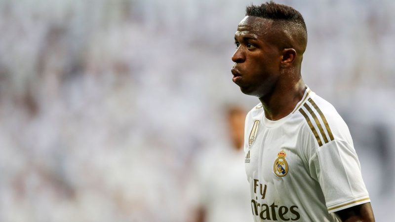 PSG lining up move for Real Madrid's out-of-favour Vinicius