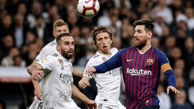 Barcelona Real Madrid kept apart in four-team Spanish Supercup