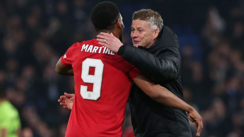 Manchester United's Anthony Martial happier ready to break out