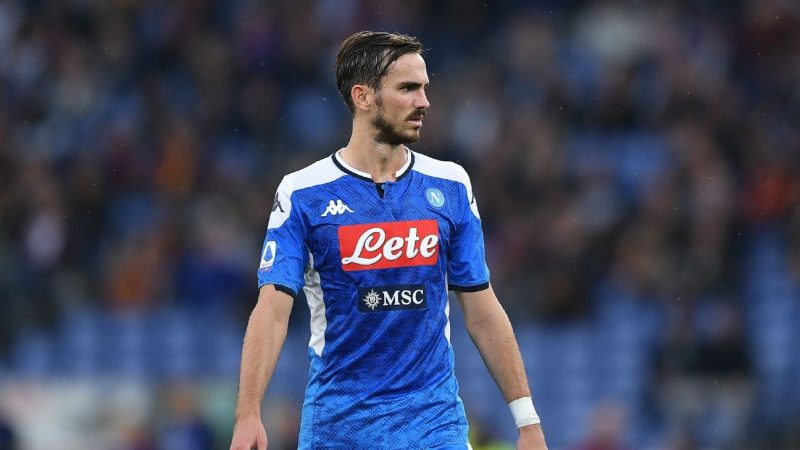 Real Madrid hold talks over transfer of Napoli's Fabian Ruiz