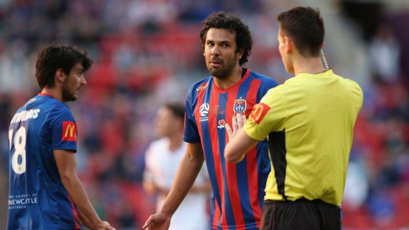 Newcastle Jets' Ernie Merrick still mad at Spanish-speaking A-League referee