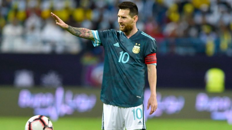 Lionel Messi told Brazil boss Tite to shut up during Argentina win