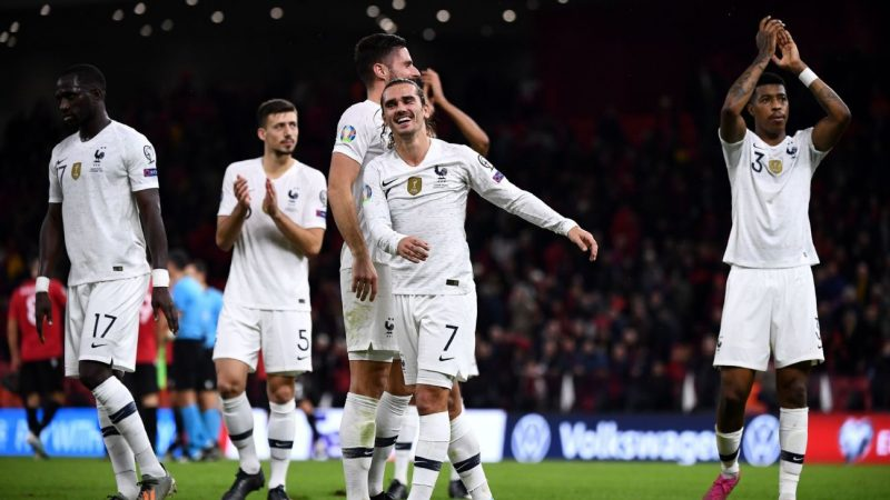 Albania vs. France – Football Match Report – November 17, 2019