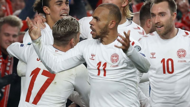 Republic of Ireland vs. Denmark – Football Match Report – November 18, 2019