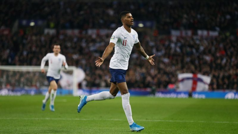 Marcus Rashford full of confidence after 'tough period' with England, Manchester United