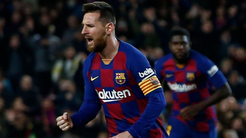 Lionel Messi poised to take scoring lead from Karim Benzema