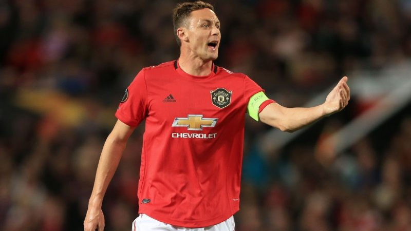 Manchester United's Nemanja Matic an Atletico Madrid target in January