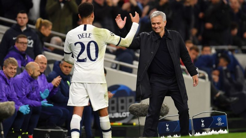 Jose Mourinho shows his teeth at Tottenham, prodding and pushing Spurs to victory