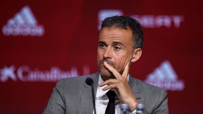 Luis Enrique blasts Robert Moreno as 'disloyal' on Spain return