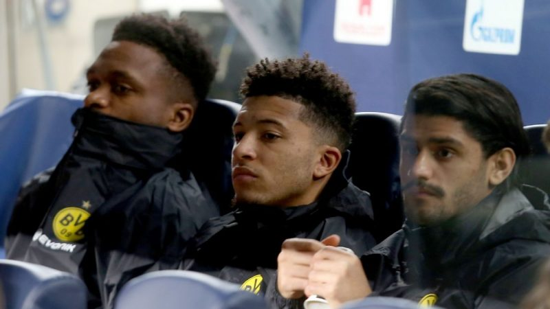 Jadon Sancho's Dortmund future up in the air after Champions League snub