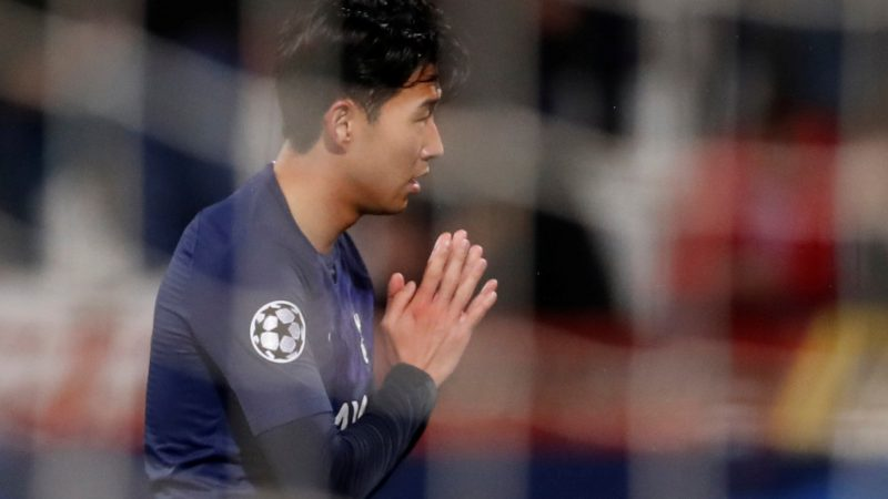 Tottenham's Son Heung-min says he is 'really, really sorry' for Andre Gomes injury