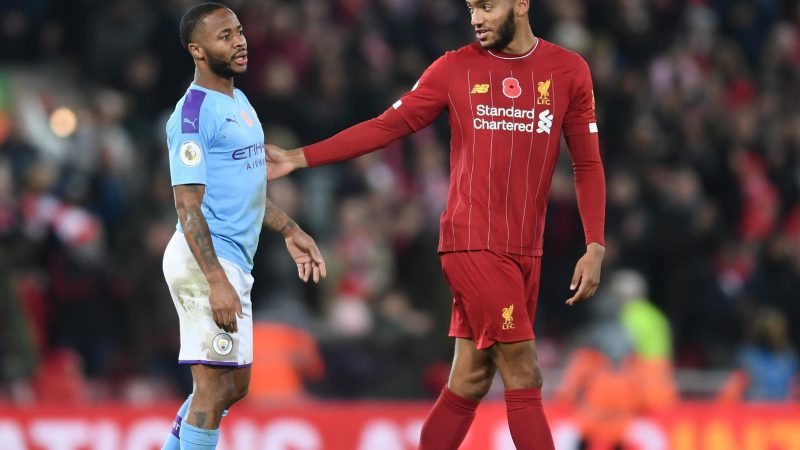 Raheem Sterling: England drop Manchester City star after bust-up with Liverpool's Joe Gomez