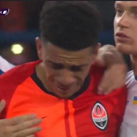 Shakhtar Donetsk captain Taison receives one-game ban after being sent off for his reaction to racist abuse