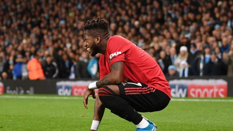 Pep Guardiola consoled Fred after United star suffered 'racist' abuse