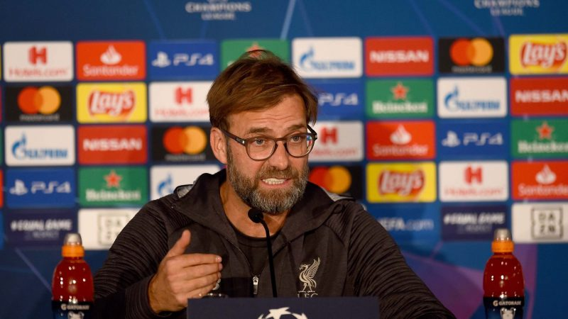 Salzburg vs Liverpool: Jurgen Klopp confident over 'intense period' ahead of crucial Champions League game