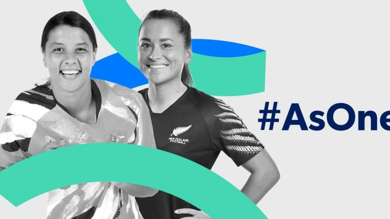 FFA and NZF unite 'As One' to Bid for FIFA Women's World Cup 2023™ : WomensSoccer