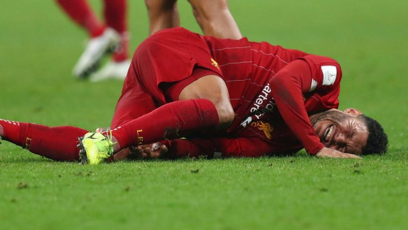 Liverpool's injury woes grow as Alex Oxlade-Chamberlain sustains ankle ligament damage