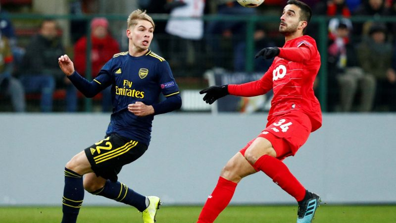 Who can Arsenal face in the Europa League round-of-32 draw?