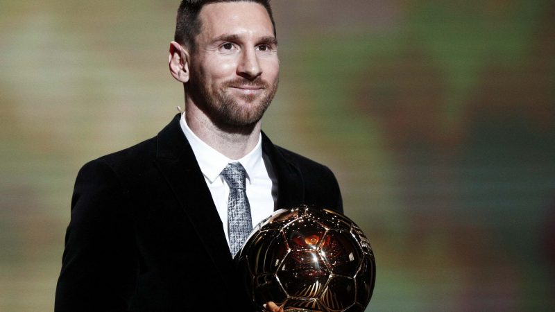 Lionel Messi beats Virgil van Dijk to win record sixth Ballon d'Or
