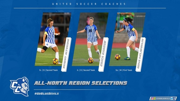 Alterisio, Bardes, McLaughlin Earn All-Region Honors