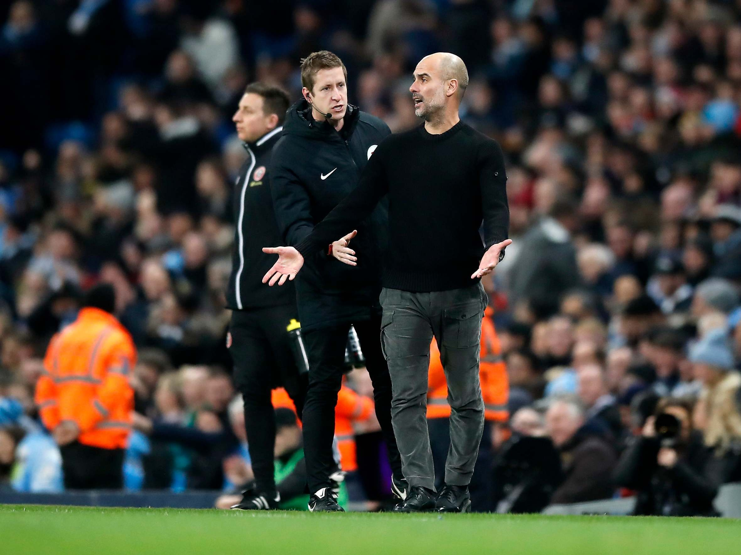 Man City manager Pep Guardiola labels VAR 'complete mess' after beating Sheffield United