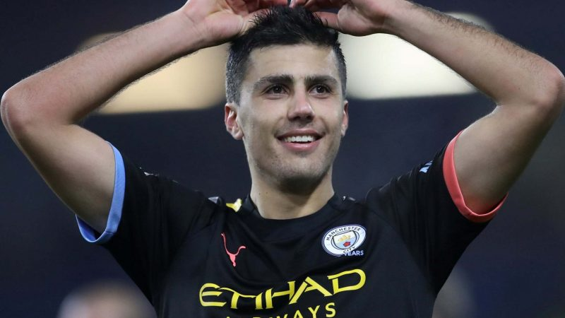 Man City midfielder Rodri sparks title fightback and 'party' with Burnley win