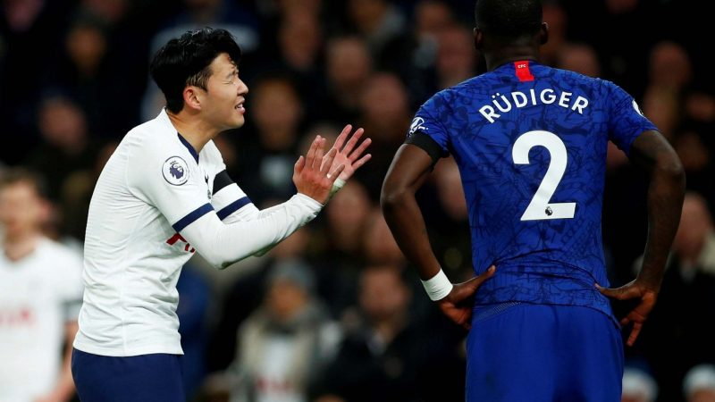 Chelsea fan arrested for racially abusing Tottenham's Son Heung-min