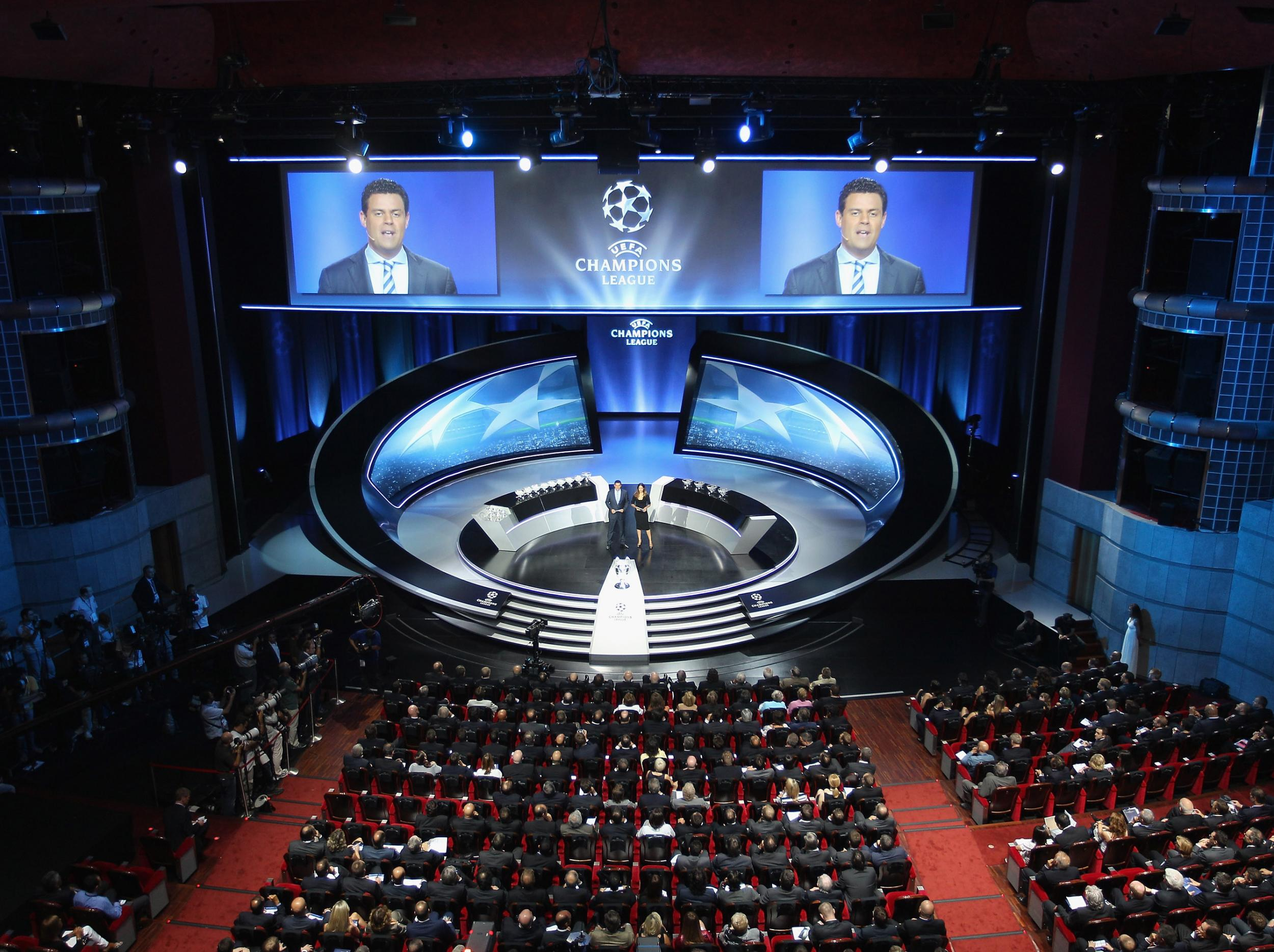 Champions League draw: Time and TV channel information