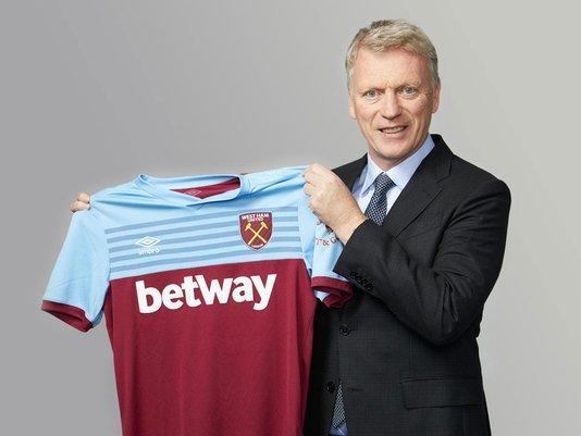 David Moyes reappointed West Ham manager after Manuel Pellegrini sacking